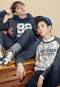 Block B Taeil & P.O for 1st Look Korea