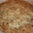 Pesto Parmesan Flatbread @ mantestedrecipes.com