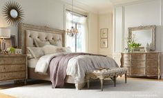 Ardenay Bedroom Collection by Accentrics Home: Elegantly Rustic French Style | The Decorating Diva, LLC