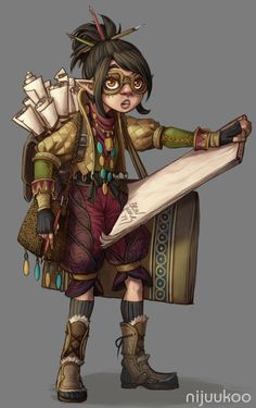 Tagged with art, drawings, fantasy, roleplay, dungeons and dragons; Dungeons & Dragons: Halflings and gnomes II (inspirational) Character Design Cartoon, Fantasy Character Design, Character Creation, Character Design Inspiration, Character Concept, Character Art, Character Ideas, Dungeons And Dragons Characters, Dnd Characters