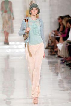 New York Fashion Week:Ralph Lauren spring/summer 2012