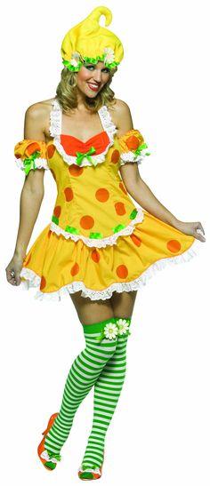 Strawberry Shortcake Lemon Merinque Costume Adult