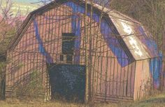 Old barn near East Ellijay (Gilmer County) Georgia (Dec 2016).