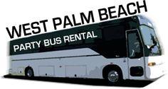 west palm party bus
