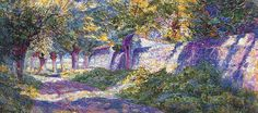 charles angrand pointillism paintings - Google Search