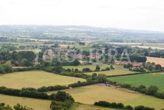 View from Ham Hill, Yeovil,Somerset.  - an absolutely fantastic view.