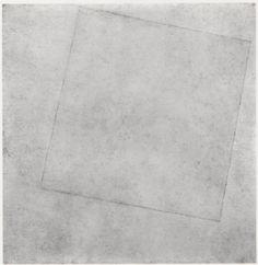 Carré blanc sur fond blanc de Gustave Malevitch