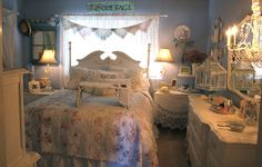 Quartos inspiradores e românticos - Inspiração para decoração/Quartos mágicos - {Cindy,Pri Lovegood,Melina Souza,Dolly}