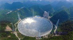 China sale a buscar vida extraterrestre con el telescopio más grande del mundo - Clarín.com