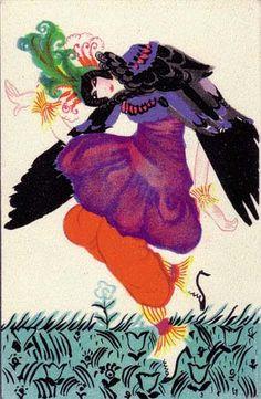 884. Maria Likarz - Wiener Werkstatte postcard