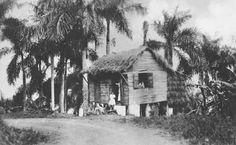 Casita en una zona rural de Puerto Rico (c1910)