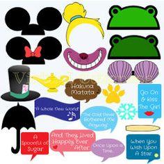 Disney Birthday, Birthday Party Themes, Birthday Ideas, Christmas Photo Booth, Christmas Photos, Photo Booths, Photo Booth Props, Wedding Props, Alice In Wonderland Party