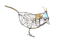 Marie Christophe's 'Piu Piu' little bird.