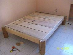 building a bed