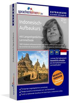 Indonesisch lernen Aufbaukurs Sprachkurs plus MP3 Sprachenlernen24 Sprachkurse