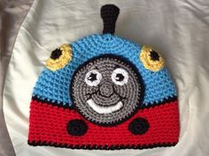 Thomas the Train Beanie Link for this hat. http://www.ravelry.com/patterns/library/engine-1 ~ LINK CORRECT and pattern is FREE when I checked on 04/03/2015.