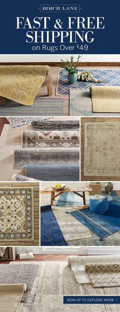 Rugs USA   Area Rugs in many styles including Contemporary  Braided     If you re looking for a way to add pattern  color  or texture to your space   the answer could be right under your feet  Shop Birch Lane s selection of  rugs