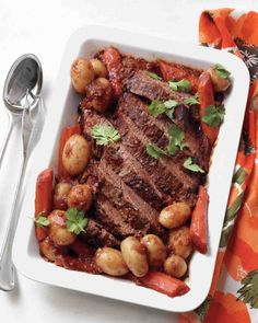 Slow-Cooker Recipes: Chili-Braised Brisket