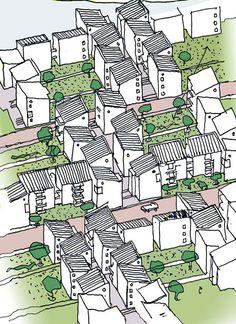 Akumunigo Housing Masterplan - Peter Rich