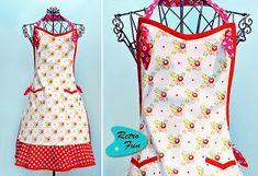 Becky Cooks Lightly: 30 Free Vintage Apron Patterns