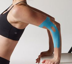 So! Let's talk Kinesio tape. I'm a recent convert as is our clinic. As a result, most patients that come in leave with some sort of taping. Mummy jokes aside, Kinesio tape is a rockstar physical therapy tool because it can help a broad range of issues ranging from: neck and back trigger points, improve shoulder posture, knee pain, help in correcting ankle over-pronation or supination and improving lymphatic drainage in injuries.  What is Kinesio taping for physical therapy?  Chiropractor Dr…