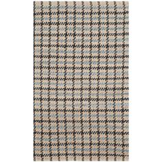 Cape Cod Grey/Natural 3 ft. x 5 ft. Area Rug
