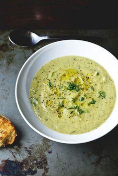 zucchini soup.