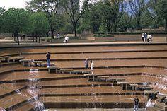 Fort Worth Water Gardens Philip Johnson Texas