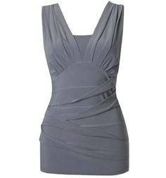 Grey tank dress up or down