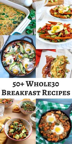 50+ Scrumptious Whole30 Breakfast Recipes • Oh Snap! Let's Eat!
