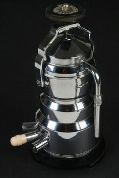 Vintage Art Deco Espresso Machine Italian by sorrentinacoffee