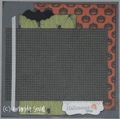 Amanda Sevall // So I Married a Triathlete...: Scrapbook Layout: Halloween 2010