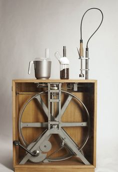 PEDAL POWERED KITCHEN APPLIANCES - now that's cool...