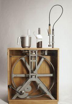 人力発電のおしゃれな台所ツール | WIRED VISION
