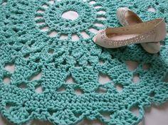 Crochet rug Crochet carpet