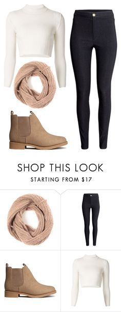 """It's Cold Outside"" by marsophie ❤ liked on Polyvore featuring H&M and Maison Margiela"