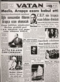 June 5665 p. to remove the Turkish ad and read Arabic. Newspaper Headlines, Old Newspaper, Turkey History, Newspaper Archives, Historical Photos, Revolutionaries, Karma, Artificial Intelligence Systems, How To Remove