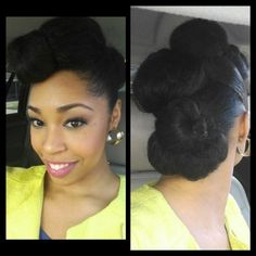 Click the image for Tiffany's natural hair photos and regimen.