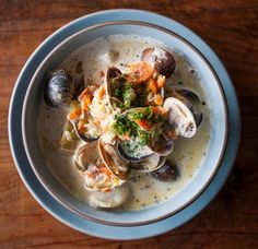 Make the best clam chowder, inspired by SORTEDFood's trip to San Francisco