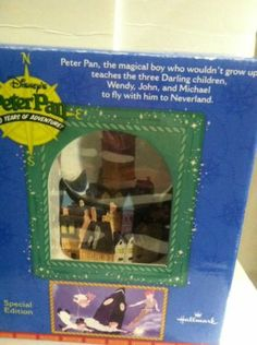 I'm selling Hallmark Special Edition Disney's Peter Pan 50 Years Of Adventure Water Globe - $20.00 #onselz