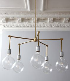 Brass Chandelier DIY – One Kings Lane