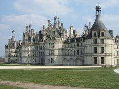 Loir-et-Cher (Loire Valley), France – Chambord Chateau 1519; intended as a hunting lodge.  It has 77 staircases, 282 fireplaces and 426 rooms.