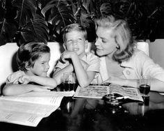 Leslie Bogart, Stephen Bogart & Lauren Bacall