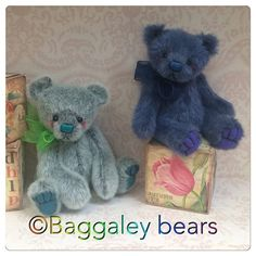 Barney and Billy are my latest little ones who are on bearpile http://baggaleybears.bearpile.com I hope you all like them X