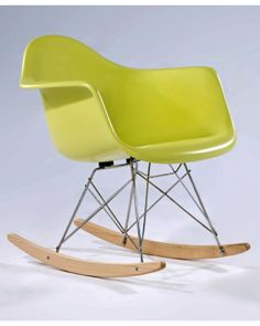 Love the Eames rocker...good for a kids room, not big enough for rocking baby