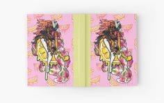"""Pink Lemonade Pin-Up Girl Stationary "" Hardcover Journals by bunny carnival  Journal Colorful Trippy Stationary Dope Drugs Pink Yellow Pastel Cute Lemonade Beyonce PinUp Pin Up Fun Cool Art Artistic Customized Notebook Sketchbook Canvas Hardback Hardcover Blank Paper Sketch Writer Writer's Journals Notebooks Fruit Citrus Pink Aesthetic Bright Summer Vibes Society6 Redbubble Back To School Writing Black Girl Magic"