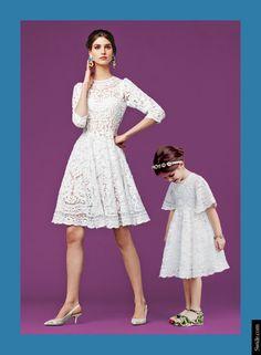 thời trang,người mẫu,trang phục,bộ sưu tập,Dolce & Gabbana,bộ ảnh,họa tiết,mẹ con