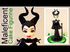 Maleficent Cake Figurine Tutorial