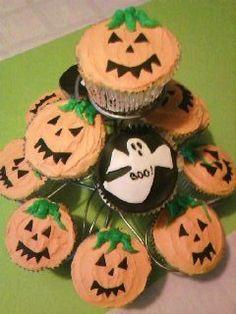 Cupcakes voor Halloween