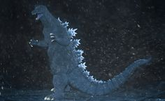 X-Plus Toho 30cm Series Godzilla 2004 Vinyl Figure Review